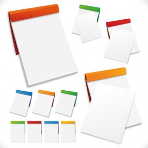 DED déstockage France papeterie Bloc note. Destocking Stationery Jotter